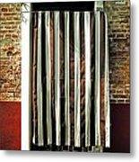 Old Italian Door Metal Print by Joana Kruse