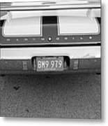 Olds C S In Black And White Metal Print
