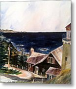 On A Clear Day Metal Print by Don F  Bradford