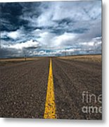 Open Highway Metal Print