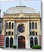 Orient Express Station In Istanbul Metal Print