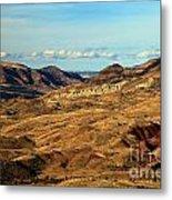 Painted Landscape Metal Print