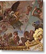 Palace Ceiling Detail Metal Print