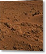 Panoramic View Of Mars Metal Print
