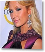 Paris Hilton At A Public Appearance Metal Print