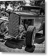 Parked Classic Metal Print