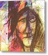 Pastel Man 12 Metal Print