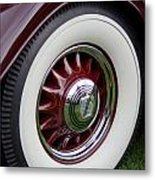 Pierce Arrow Wheel Metal Print