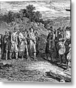 Pilgrims: Massasoit Metal Print