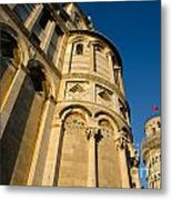 Pisa Tower And Cathedral Metal Print