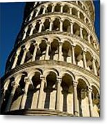Pisa Tower Metal Print