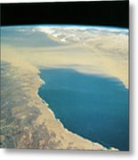 Planet Earth Viewed From Space Metal Print