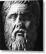 Plato (c427 B.c.-c347 B.c.) Metal Print