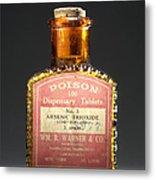 Poison, Circa 1900 Metal Print