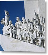 Portuguese Maritime Monument Metal Print