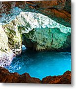 Powerfull Water Metal Print