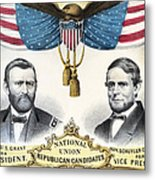 Presidential Campaign, 1868 Metal Print
