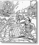 Presidential Campaign, 1900 Metal Print