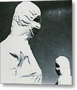 Protective Clothing Metal Print by Cristina Pedrazzini