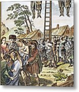 Protestant Martyrs, 1563 Metal Print by Granger
