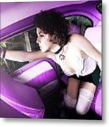 Purple... Metal Print