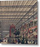 Queen Victoria With Prince Consort Metal Print