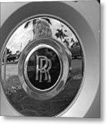 R R Wheel Metal Print