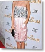 Rachel Bilson Wearing A Chanel Couture Metal Print