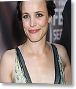 Rachel Mcadams At Arrivals For The Metal Print by Everett