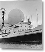 Radio Antennae On A Soviet Ship Metal Print