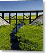 Railroad Trestle Metal Print