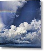 Rainbow Cloud V5 Metal Print