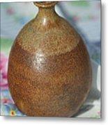 Rare John Regis Tuska Pottery Vase Metal Print