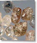 Raw Diamonds Metal Print