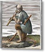 Recorder, 1723 Metal Print