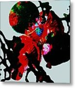 Red Spider Nebula Metal Print