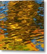 Reflection In Water. Metal Print