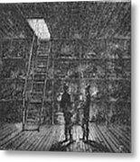 Refrigerated Ship, 1876 Metal Print