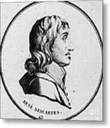 Rene Descartes, French Polymath Metal Print