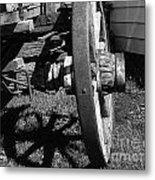 Retired Wagon Metal Print