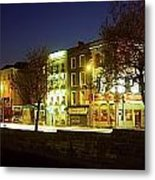 River Liffey, Dublin, Co Dublin, Ireland Metal Print by The Irish Image Collection