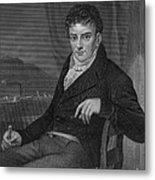 Robert Fulton, American Engineer Metal Print