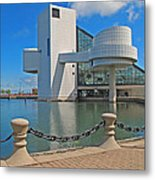 Rock And Roll Hall Of Fame Metal Print