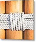 Rope Metal Print by Tom Gowanlock