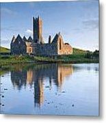 Rosserk Friary, Co Mayo, Ireland 15th Metal Print
