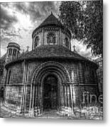 Round Church Of The Holy Sepulchre Metal Print