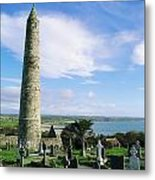 Round Tower, Ardmore, Co Waterford Metal Print