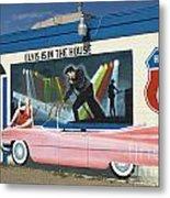 Route 66 Elvis Metal Print
