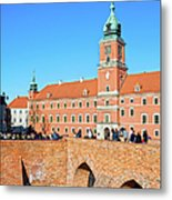 Royal Castle In Warsaw Metal Print by Artur Bogacki