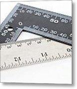 Rulers Metal Print